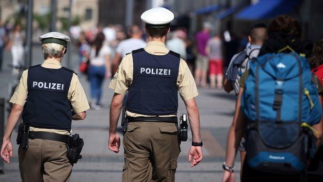 """Bayerns Polizei: """"Reichsbürger"""" in eigenen Reihen? (Bild: APA/AFP/dpa/DANIEL KARMANN)"""