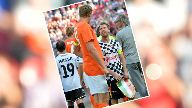"""Dirk Nowitzki sorgt mit """"Zaza-Elfer"""" für Lacher (Bild: APA/dpa/Torsten Silz)"""