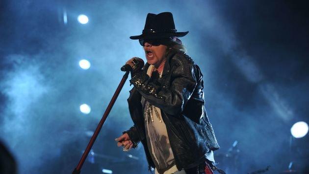 """Guns N"""" Roses verlängern ihre Tour bis 2017 (Bild: MANJUNATH KIRAN/AFP/picturedesk.com)"""