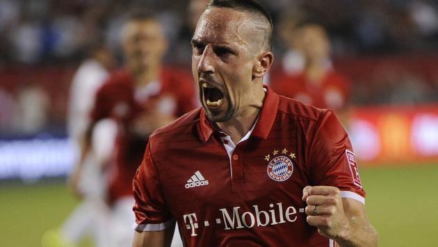 "Ribéry: ""Pep Guardiola hat zu wenig Erfahrung!"" (Bild: ASSOCIATED PRESS)"