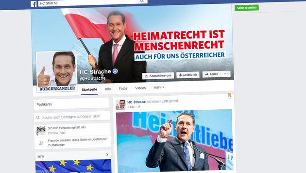 Strache klagt Datenforensiker wegen Posting (Bild: Facebook)