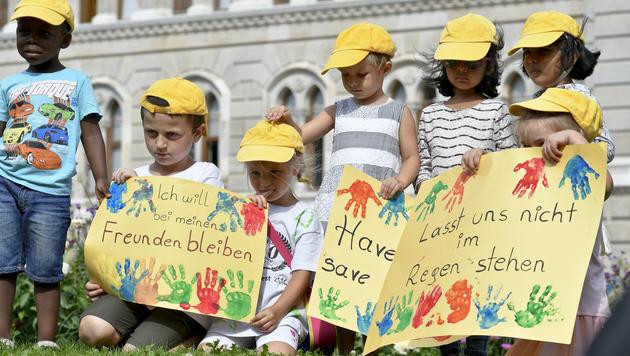 """""""Alt-Wien""""-Kindergärten: Stadt lehnt Vergleich ab (Bild: APA/HERBERT NEUBAUER)"""