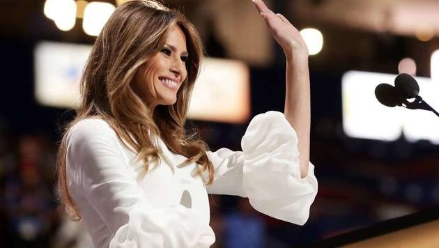 Melania Trump (Bild: APA/AFP/GETTY IMAGES/CHIP SOMODEVILLA)