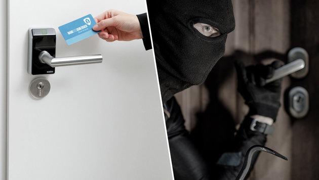 Alarmanlagen & Co: Der hohe Preis der Sicherheit (Bild: Kronen Zeitung, thinkstockphotos.de)