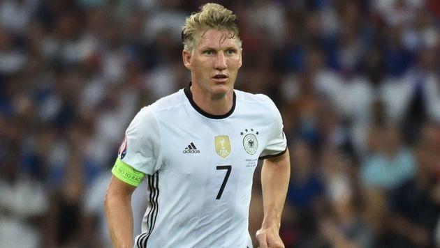 Bastian Schweinsteiger: R�cktritt aus Nationalteam (Bild: AFP)