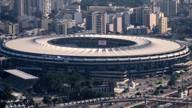 Ins Olympia-Stadion eindringen? Kein Problem (Bild: APA/AFP/YASUYOSHI CHIBA)
