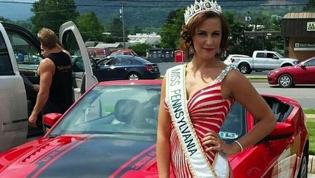 Brandi Weaver-Gates, Miss Pennsylvania des Jahres 2015 (Bild: twitter.com)