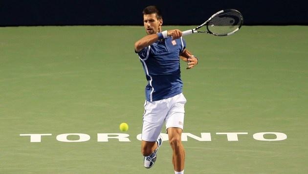 Novak Djokovic mühelos im Toronto-Viertelfinale (Bild: Getty Images)