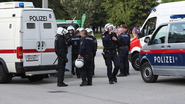 Randale vor EL-Quali-Spiel Austria gegen Trnava (Bild: GEPA)
