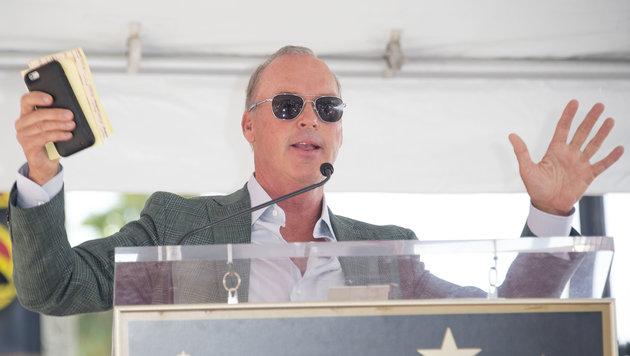 """Keaton, der in mehr als 50 Filmen mitspielte, wurde als """"Batman"""" bekannt. (Bild: AFP)"""