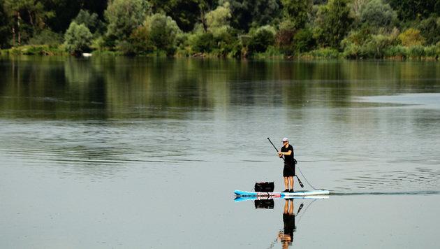 Münchner paddelt für Natur 500 Kilometer nach Wien (Bild: C. Melis)