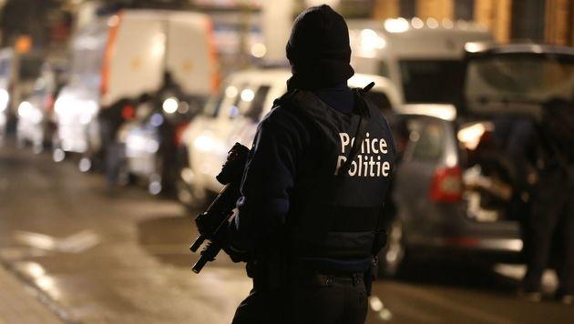 Belgien: 33-Jähriger wegen Terrorplänen verhaftet (Bild: APA/AFP/Belga/Nicolas Maeterlinck (Symbolbild))