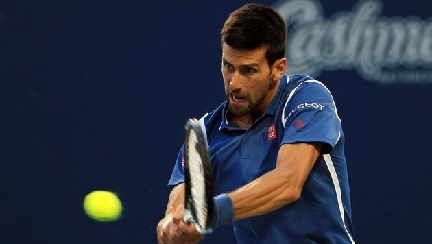 Djokovic und Monfils im Toronto-Halbfinale (Bild: Getty Images)