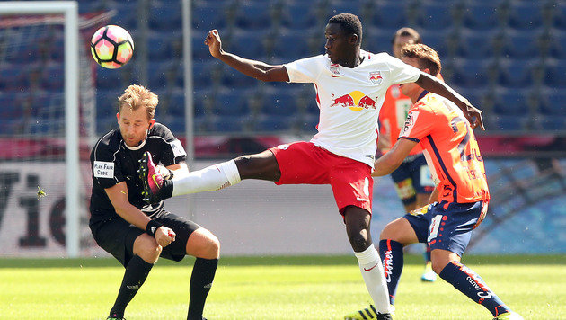 Im VIDEO! Salzburg schafft gegen WAC nur 1:1 (Bild: APA/KRUGFOTO)