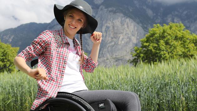 Kira Gr�nberg: Ein Jahr nach dem Unfall (Bild: GEPA)