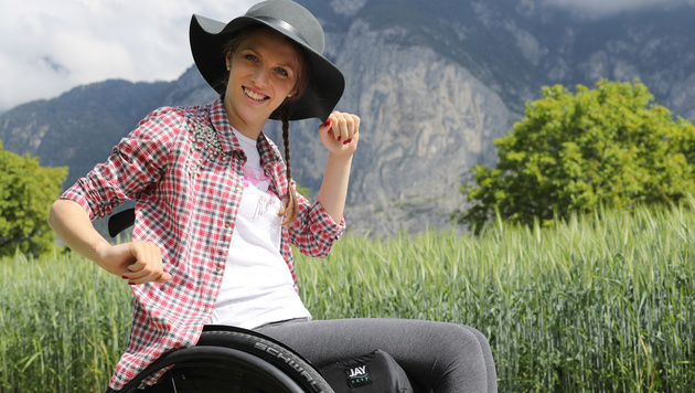 Kira Grünberg: Ein Jahr nach dem Unfall (Bild: GEPA)