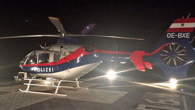 Schwer verletzter Alpinist per Helikopter gerettet (Bild: BMI)