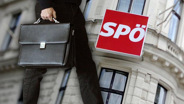 Spionageaffäre in der Wiener SPÖ-Zentrale (Bild: APA/ROLAND SCHLAGER, APA/HELMUT FOHRINGER)