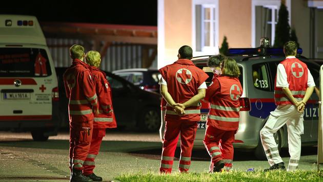 """Noch-Ehefrau getötet: """"Es war ein Blutbad"""" (Bild: Matthias Lauber/laumat.at)"""