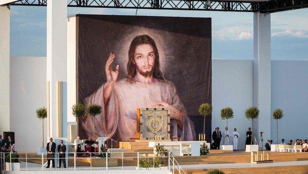Papst wünscht sich unbequeme Jugendliche (Bild: AFP)