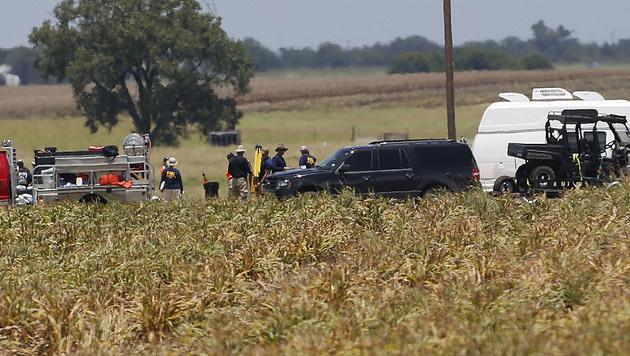16 Tote bei Absturz von Heißluftballon in Texas (Bild: AP)