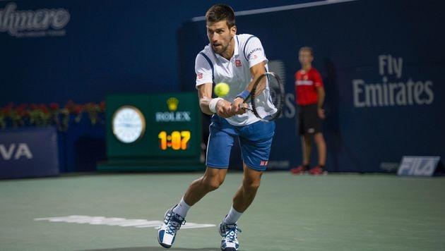 Djokovic und Nishikori im Toronto-Finale (Bild: AFP)
