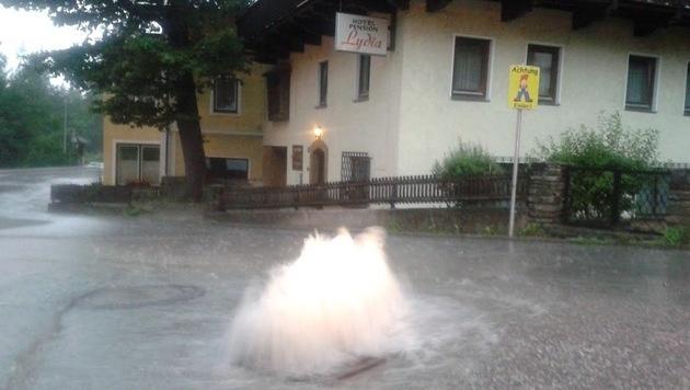 Erneut heftige Unwetter in Teilen Österreichs (Bild: FF Bad Gastein)
