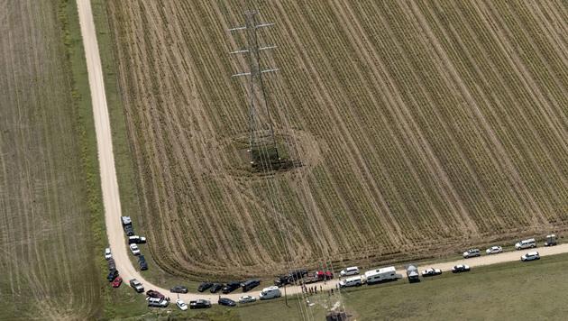 16 Tote bei Absturz von Hei�luftballon in Texas (Bild: AP)