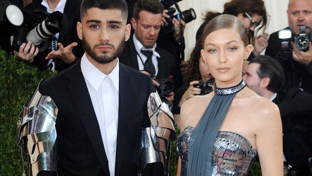 Zayn Malik und Gigi Hadid (Bild: Viennareport)