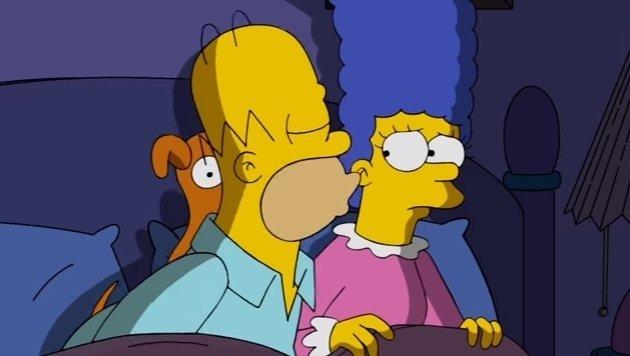 Gerade noch mal gerettet - auch Homer will für Clinton stimmen. (Bild: YouTube.com)
