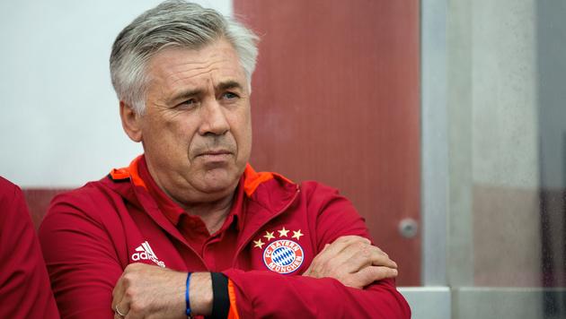 Bayern-Coach Ancelotti kritisiert Spielerberater (Bild: AP)