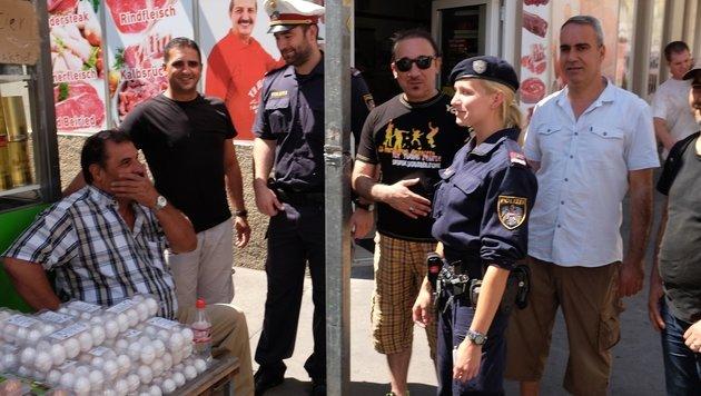 """""""Warum  Wiens Polizisten ihren Job trotzdem lieben (Bild: zet)"""""""