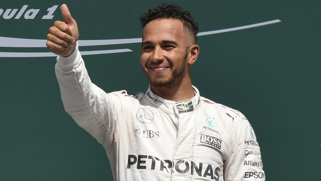 """Hamilton: """"Es fühlt sich an wie im 7. Himmel"""" (Bild: AFP)"""