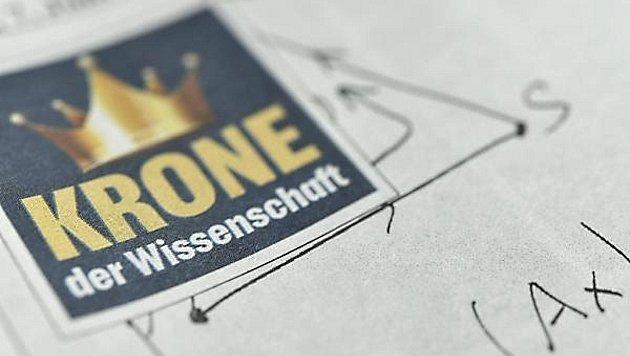 """Heimische Spitzenforscher in der """"Krone"""" (Bild: APA (Techt))"""