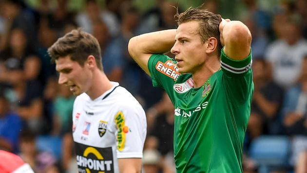 """Rapids Müller: """"Einige Spieler sind nicht in Form"""" (Bild: GEPA)"""