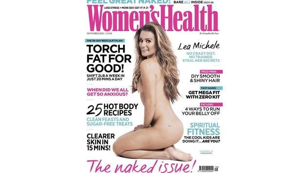 Lea Michele zeigt sich nackt (Bild: www.viennareport.at)