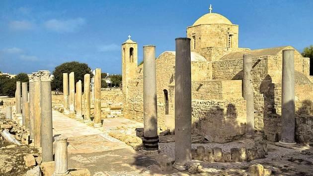Die Panagia Chrysopolitissa in Paphos ist eine frühbyzantinische Basilika. (Bild: Mauritius)