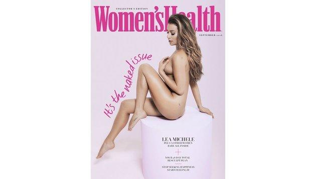 Lea Michele zeigt sich nackt (Bild: Viennareport)