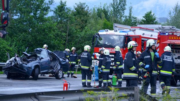 24-Jähriger im Pongau nach Unfall gestorben (Bild: APA/AIRKLICK/MARKUS WINKLER)