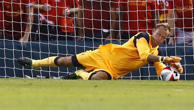 Alexander Manninger: Debüt für FC Liverpool (Bild: AP)