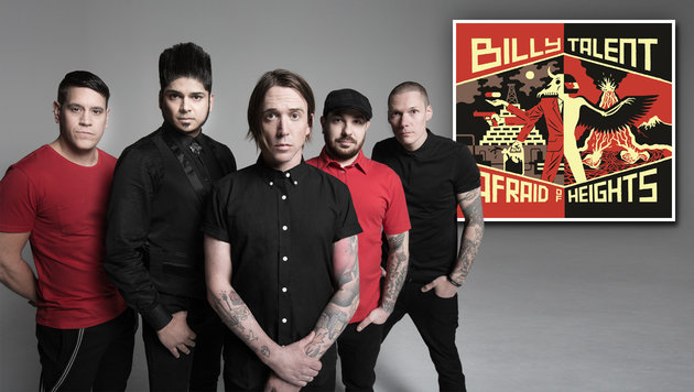 "Billy Talent: ""Der Rock""n""Roll darf nicht sterben"" (Bild: Warner Music.)"