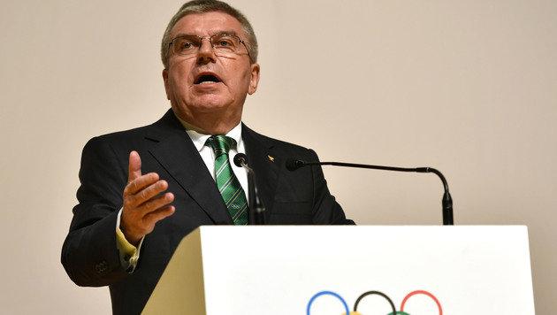 Doping-Sumpf: IOC-Chef Bach verspricht Sanktionen (Bild: AFP)