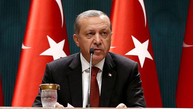 Der t�rkische Pr�sident Recep Tayyip Erdogan