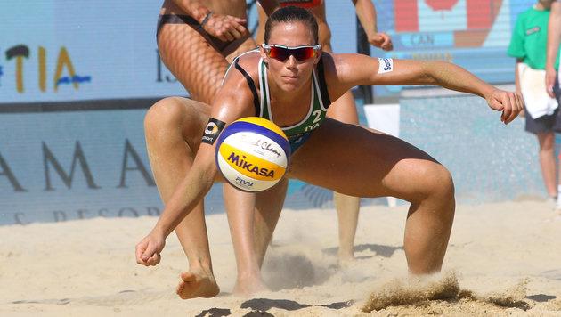 Italo-Beachvolleyballerin positiv auf Steroid (Bild: GEPA)