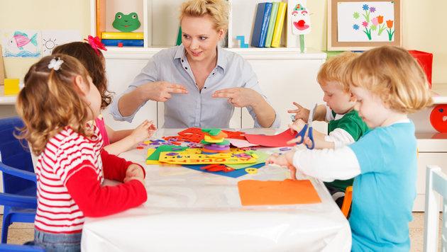 Kinderbetreuungskosten oft steuerlich absetzbar! (Bild: thinkstockphotos.de)