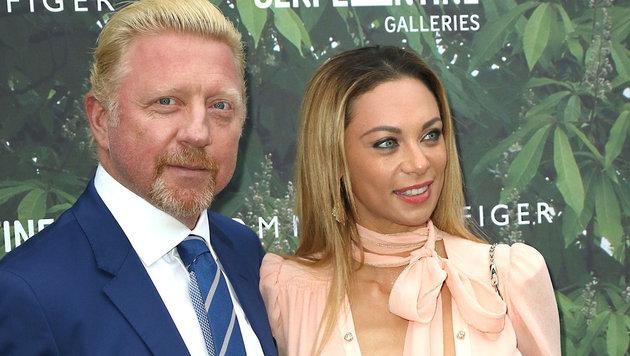 Boris mit Ehefrau Lilly Becker (Bild: Viennareport)