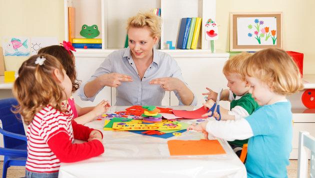 Nein zu Kindergarten: Wirbel um Eltern-Vorladung (Bild: thinkstockphotos.de)