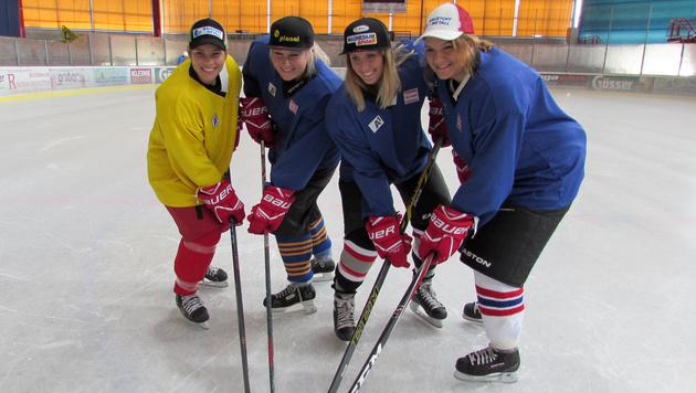 ÖSV-Ladies: Training auf Eis für Erfolge im Schnee (Bild: APA/JOHANN G…ÖDEL)