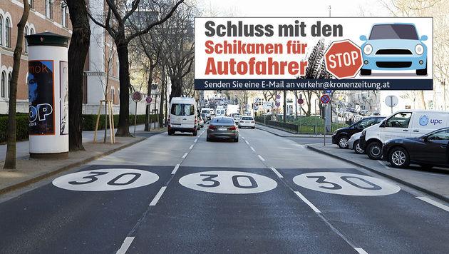 Wien: Das nervt die Autofahrer am meisten (Bild: Zwefo)
