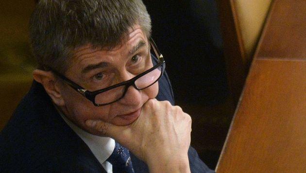 Tschechiens Vizepremier Andrej Babis (Bild: AFP)